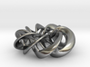 Torus Ribbons - Pendant in Cast Metals 3d printed