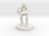Rifle Sentry Robot (28mm Scale) 3d printed