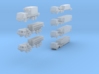 THAAD Missile Battery Convoy  3d printed THAAD Convoy in eleven parts
