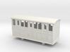 Bandai OO9 Scale Narrow Gauge Coach - Type 2 3d printed