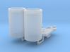1:8 BTTF DeLorean blue capacitors 3d printed