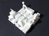 Six Objectives 3d printed The model in white processed versatile plastic. They arrive sprued and unpainted.