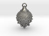 Fractal pendant - Strawberry fields 3d printed