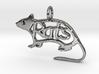 Rats pendant - Precious 3d printed
