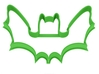 Bat cookie cutter for professional 3d printed