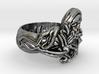 Snakes Skull Ring 3d printed Snakes Skull Ring.