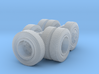 1/87 Scale Transit 16in Wheel Set 3d printed