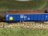 PKP wagon 401Wj (Eaos-w) Z scale (skala Z) 3d printed Finished model in Z scale in PKP Cargo colors