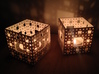 Menger Sponge Tea Light Lantern 3d printed