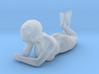 Female Bikini Lying Down 3d printed