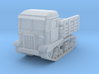 STZ 5 tractor scale 1/144 3d printed