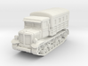 Voroshilovets tractor (covered) scale 1/87 3d printed