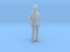 1-24 Fred Standing with hat hollow 3d printed