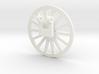 TIle Stringer Wheel 3d printed