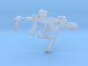 Kriss K10 with red dot sight in 1/6 scale 3d printed
