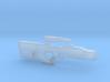 cyberpunk - near future laser rifle in 1/6 scale 3d printed