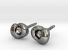 Optic Cup Earrings 3d printed