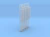 1:100 Cage Ladder 61mm Platform 3d printed