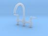 Triple Deco Bridge Faucet  3d printed