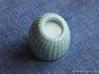 Brain Coral Porcelain: Jewellery Salt/Herb/Spices 3d printed Gloss Celadon Green Porcelain with salt