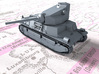 1/144 French SARL 42 Tank (75mm SA44 Gun) 3d printed 1/144 French SARL 42 Tank (75mm SA44 Gun)