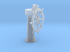 Ships wheel and post 1/35 3d printed