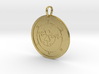 Leraje Medallion 3d printed