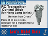 "Heng Long tank transmitter stick ""Germany""  3d printed"