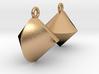 Sphericon Earrings 3d printed