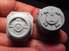 YT1300 BANDAY 1/144 LC MCQUARRIE DOCKING RINGS 3d printed Compared with the stock part