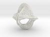 Borromean honeycomb moebius small 3d printed