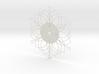Sunburst Clock - Deanna 3d printed