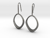 D-STRUCTURA IRIS Earrings. Structured Chic 3d printed