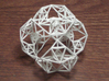 Inversion of a Sierpinski Tetrahedron 3d printed The least expensive version is now white or black detail plastic.