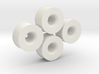 Mini-z Rear Wheelset 21mm +3.5mm, 2 pairs 3d printed