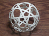 Stripsphere10  3d printed 10 strip sphere
