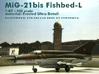 MiG-21bis Fishbed-L 3d printed