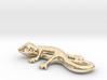 Cute Gecko Keychain 3d printed