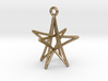 Star Ornament, 5 Points 3d printed