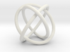 Borromean Rings 3d printed