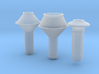 Smokestack assortment 1 O scale 1/48 3d printed