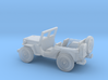 1/87 Scale MB Jeep 3d printed