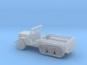 1/72 Scale Halftrack Jeep 3d printed