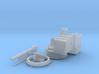 "1/35 4.5""/19 (11.4 cm) 8cwt QF MKI Aft (MTB) 3d printed 1/35 4.5""/19 (11.4 cm) 8cwt QF MKI Aft (MTB)"