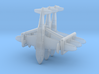 Short S23 Empire Flying Boat Set 3d printed the models are caged together to avoid loss and damage - NO SPRUES to cut away!