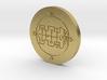 Raum Coin 3d printed