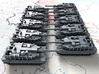 1/700 South Korean K2 Black Panther MBT x10 3d printed 1/700 South Korean K2 Black Panther MBT x10