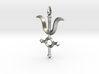 Angel Cross Pendant I 3d printed