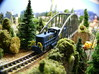 EMD SW 1500 N 3d printed z scale Model Photo painted with CSX