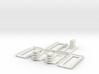 Barbed Wire Installation Glue Jig-3 3d printed Part # BWF-007